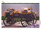 Halloween Cart Full Of Fall Harvest Goodies  Carry-all Pouch