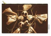 Halloween Horror Dolls On Dark Background Carry-all Pouch