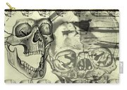 Halloween In Grunge Style Carry-all Pouch