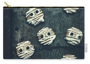 Halloween Mummy Cookies Carry-all Pouch