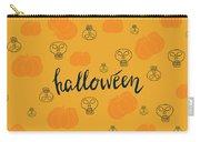 Halloween Pumpkins Carry-all Pouch