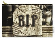 Halloween Rip Rest In Peace Headstone Carry-all Pouch
