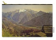 Hallstatter See Carry-all Pouch by Ferdinand Georg Waldmuller