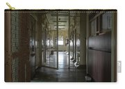 Hallway With Solitary Confinement Cells In Prison Hospital Carry-all Pouch