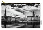 Hamburg At Sunset Carry-all Pouch