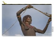 Hamer Tribe Woman, Ethiopia  Carry-all Pouch