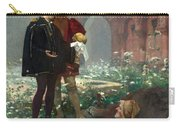 Hamlet And The Gravediggers Carry-all Pouch