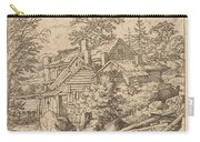 Hamlet On A Mountain Side Carry-all Pouch