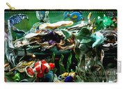 Hammerhead Shark Swimming Through New Abstract Coral Carry-all Pouch