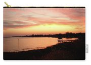 Hampton Virginia Sunset Carry-all Pouch