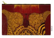Hamsa- Brown Carry-all Pouch