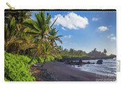 Hana Bay Palms Carry-all Pouch by Inge Johnsson