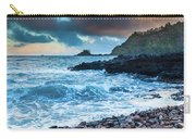 Hana Bay Pebble Beach Carry-all Pouch by Inge Johnsson