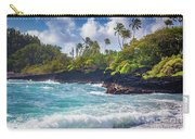 Hana Bay Waves Carry-all Pouch