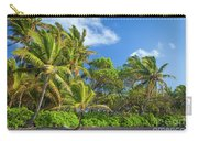 Hana Palm Tree Grove Carry-all Pouch by Inge Johnsson