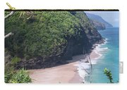 Hanakapiai Beach - Kalalau Trail - Kauai Hawaii Carry-all Pouch