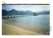Hanalei Bay And Pier Carry-all Pouch