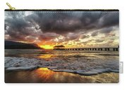 Hanalei Pier Reflections Carry-all Pouch