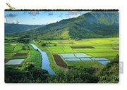 Hanalei Valley Carry-all Pouch by Inge Johnsson