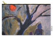 Hand In Hand Walk Under The Moon Carry-all Pouch