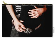 Hand Holding Carry-all Pouch