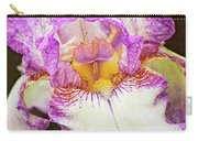 Hand Tinted Iris Carry-all Pouch
