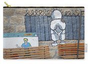 Handala And The Wall Carry-all Pouch