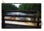 Handrails Tahquamenon Lower Falls Upper Peninsula Michigan 02 Carry-all Pouch