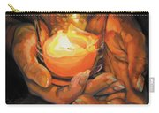 Hands By Candlelight Carry-all Pouch
