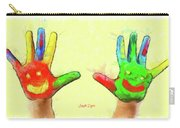 Hands In Art Carry-all Pouch