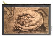 Hands Of Poverty Carry-all Pouch