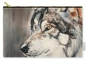 Handsome Wolf Carry-all Pouch