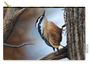 Hangin Out - Nuthatch Carry-all Pouch