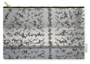 Hanging Butterflies B W  Carry-all Pouch