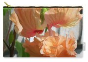 Hanging Hibiscus Carry-all Pouch