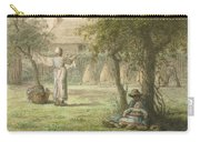 Hanging Out The Laundry By Jean-francois Millet Carry-all Pouch