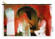 Hanging Out Travel Exotic Arches Red Abstract Square India Rajasthan 1e Carry-all Pouch