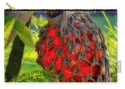 Hanging Red Bottle Garden Art Carry-all Pouch