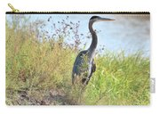 Hank The Blue Heron Carry-all Pouch