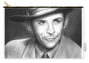 Hank Williams Carry-all Pouch