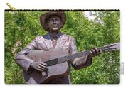 Hank Williams Statue - Cropped Carry-all Pouch