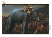 Hannibal Crossing The Alps On Elephants By Nicolas Poussin, 1625-1626. Carry-all Pouch