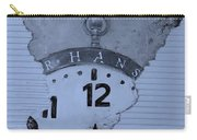 Hans Clock Cyan Carry-all Pouch