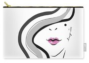 Hanyidesigns Beautiful Girl Carry-all Pouch