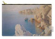 Hanzen, Alexei 1876-1937 A Cove In Dubrovnik Carry-all Pouch