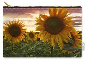 Happiness Is A Field Of Sunflowers Carry-all Pouch