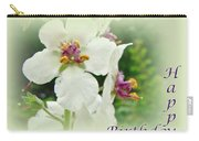 Happy Birthday - Floral - Moth Mullein Carry-all Pouch
