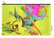 Happy Birthday Lilac Breasted Roller Abstract Carry-all Pouch