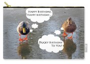 Happy Birthday To You Carry-all Pouch