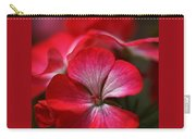 Happy Bright Geranium And Design Carry-all Pouch